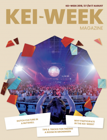 KEI-week magazine: Read all about studying in Groningen!