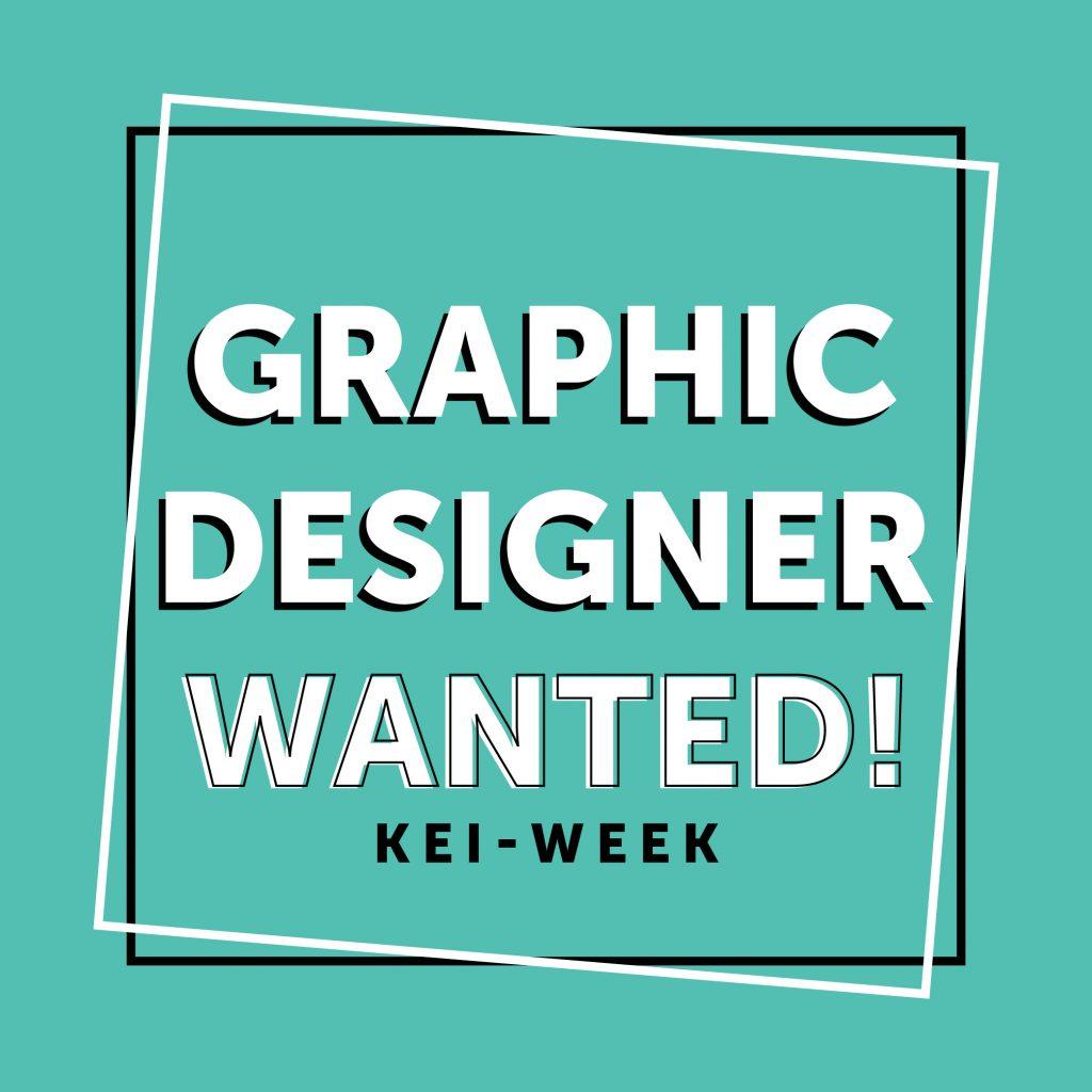 Gezocht: Grafisch Designer KEI-week 2020!