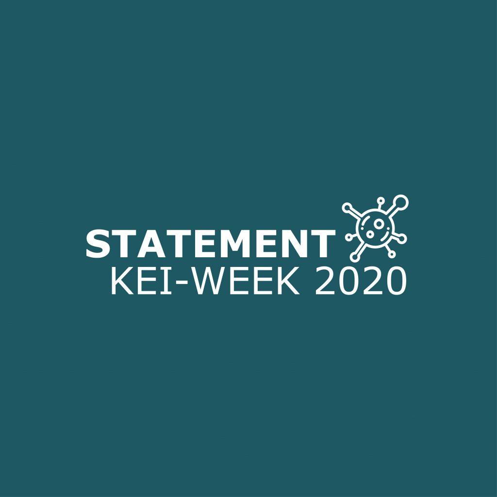 Statement alternative form KEI-week 2020