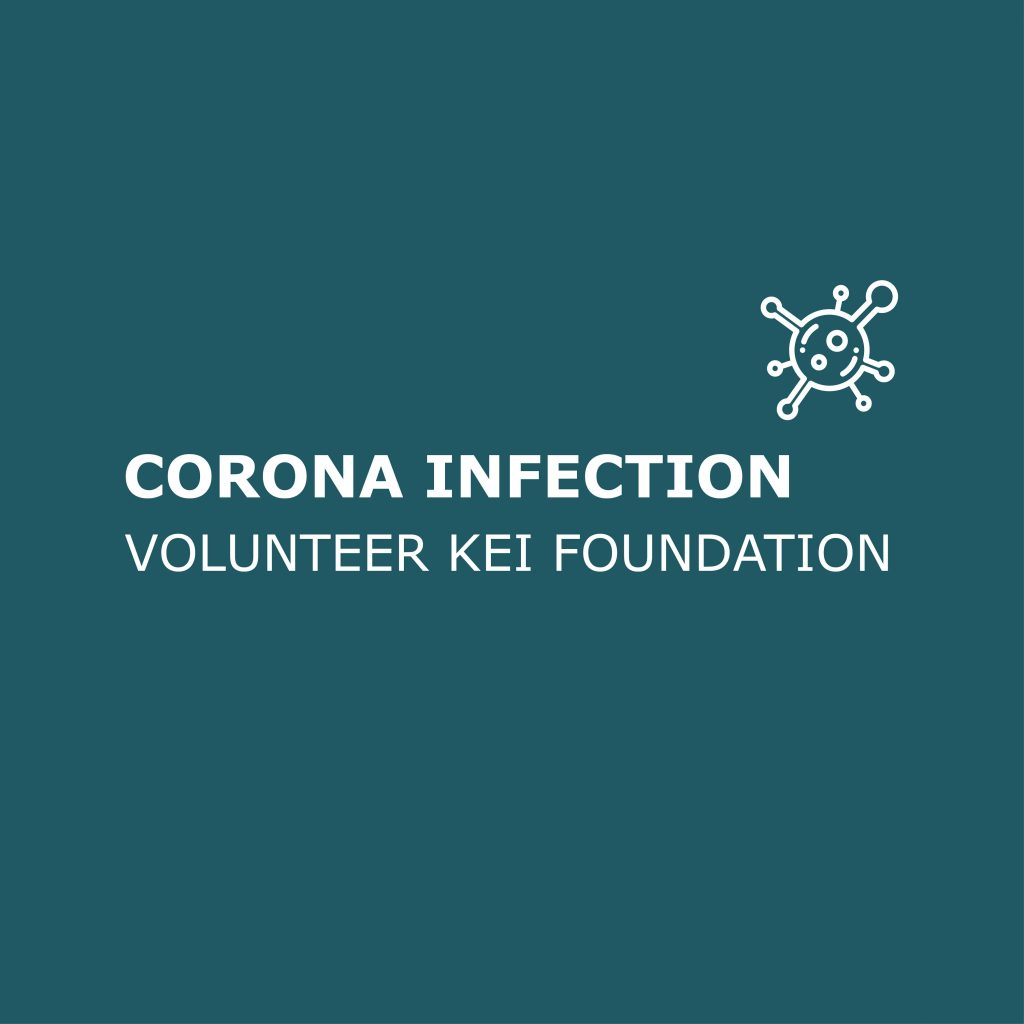Corona infection volunteer KEI foundation