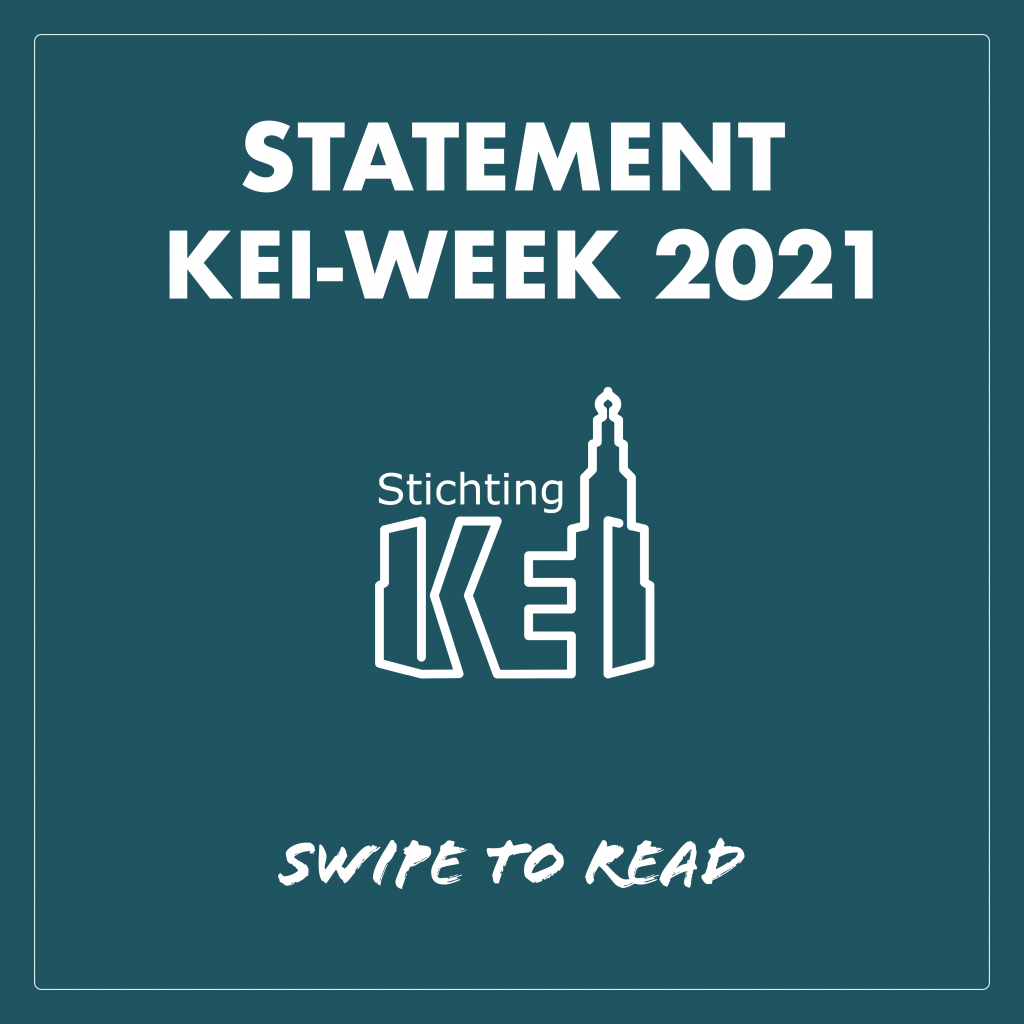 KEI-week 2021 organizes terrace festival